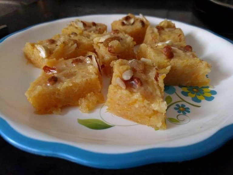 Pumpkin Halwa (Indian- Maharashtrian Sweet Dish)