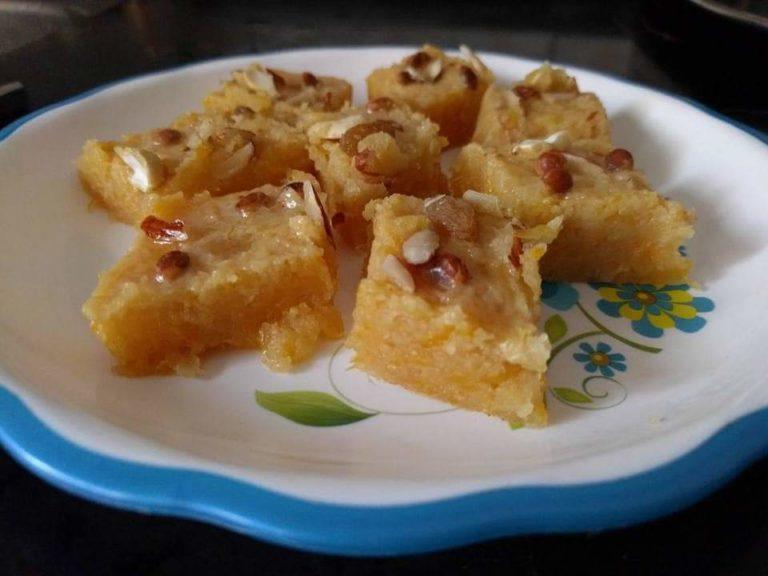 Pumpkin Halwa (Indian- Maharashtrian Sweet Dish)